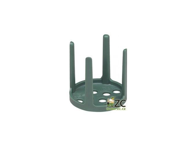 Oasis pinholder - na aranžovací hmotu zelený
