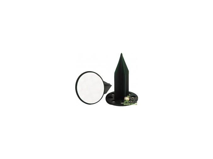 Oasis pini - na aranžovací hmotu zelený 7,5cm s lepící podložkou