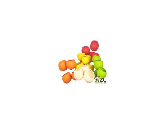 Dekorace - Bell Cup 4-5cm 4ks - jablkově zelený
