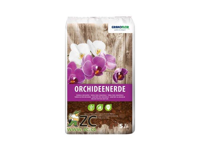 60963 1 substrat pro orchideje gramoflor 5l