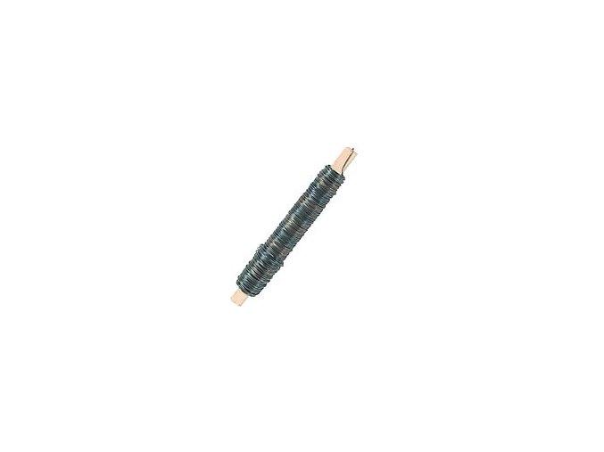 Drát vázací - žíhaný černý 100g
