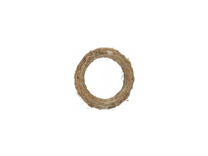 Kroužek slaměný - 18cm