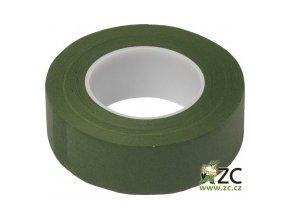 Ovinovací páska Oasis - 27mm tmavě mechově zelená