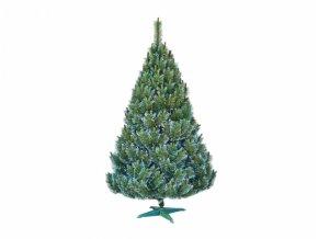 Stromek BOROVICE umělý vánoční s bílými konci + stojan 180cm
