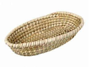 Ošatka na chléb mořská tráva 34x18x7cm