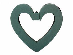 Aranžovací srdce otevřené 25 cm (Florex)