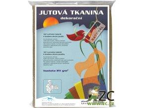 Jutová tkanina 1,3x1m - přírodní