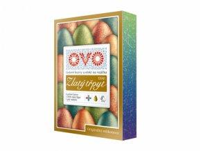 Barva na vajíčka OVO EFEKT 4 gelové barvy a 1 třpytivá
