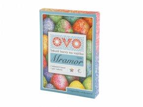 Barva na vajíčka OVO MRAMOR 5 barev + rukavice