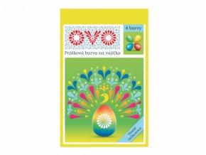 Barva na vajíčka OVO prášková 4 barvy