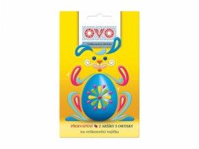 Obtisky na vajíčka OVO 2ks