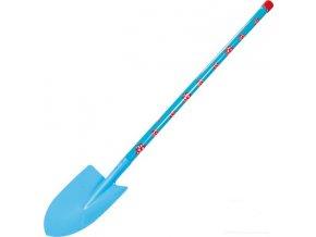 Dětský rýč malý modrý 78 cm Stocker