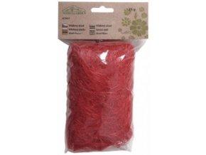Sisálové vlákno 25g - červené