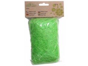 Sisálové vlákno 25g - světle zelené