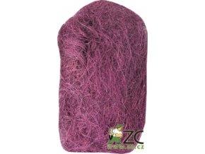 Sisálové vlákno 30g - fialové