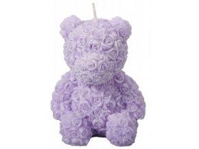 56639 svicka medvidek svetle fialovy