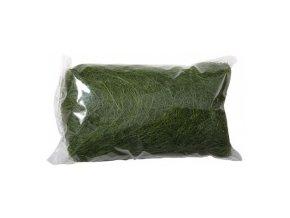Sisálové vlákno 50g - tmavě zelené