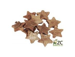 Dekorace - Kokosová hvězda 6ks