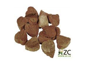 Dekorace - Kokosové srdce 6ks