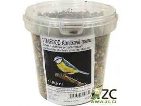 Krmítkové menu kbelík (objem 3500 ml)