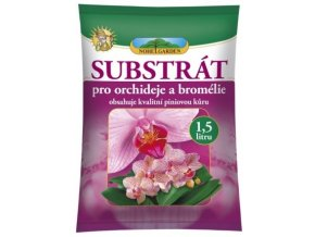 55856 substrat pro orchideje a bromelie 1 5l kurovy