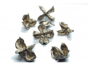 Cotton flower zlatá 6ks