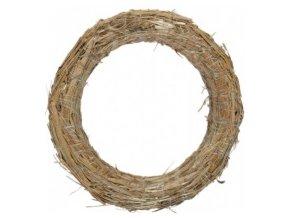 Kroužek slaměný - 15cm