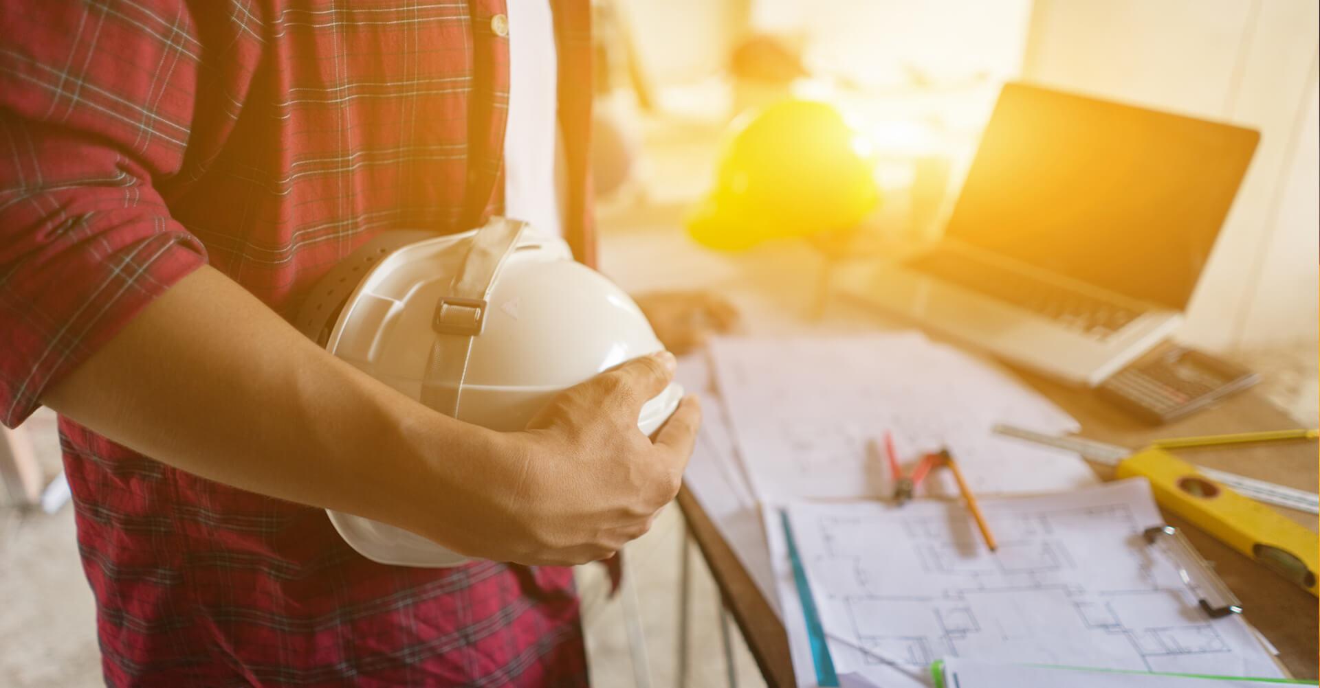 Ako ochrániť hlavu pred pracovným úrazom?