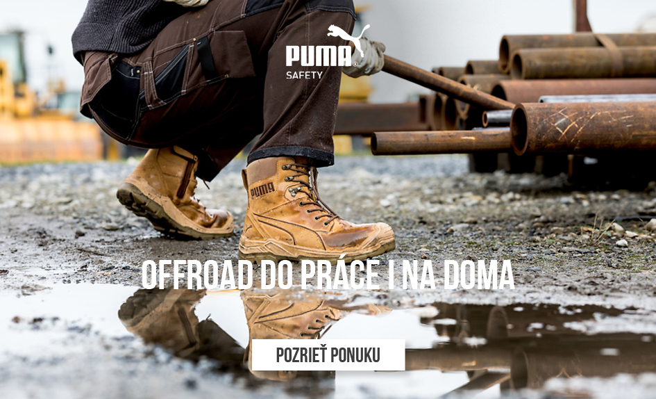 PUMA SAFETY_Offroad do práce i na doma