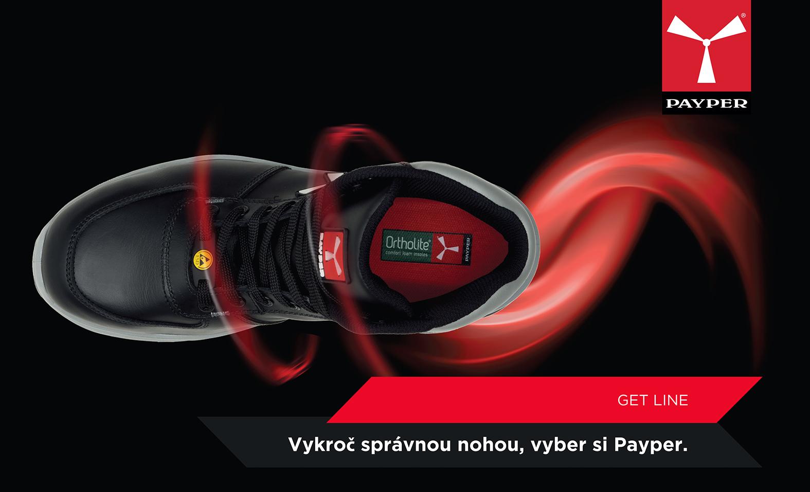 Payper bezpečnostná pracovná obuv