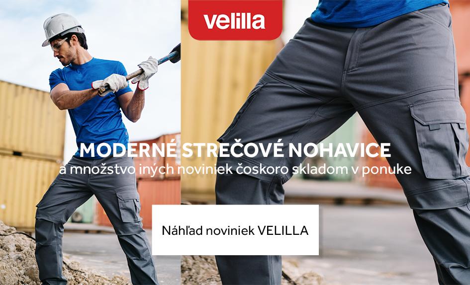 Velilla - novinky v pracovnom oblečení