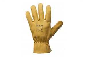 Celokožené pracovné rukavice