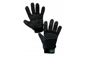 Máčané povrstvené pracovné rukavice