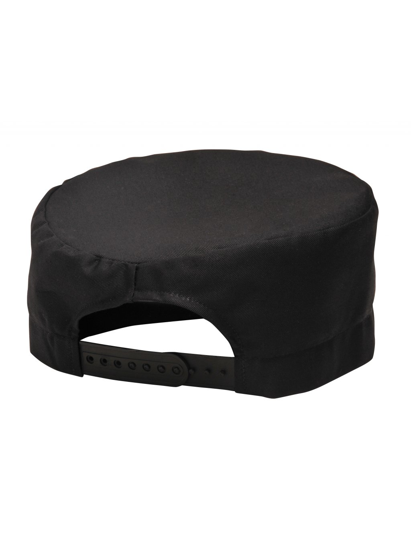 Kuchárska čiapka S899 čierna