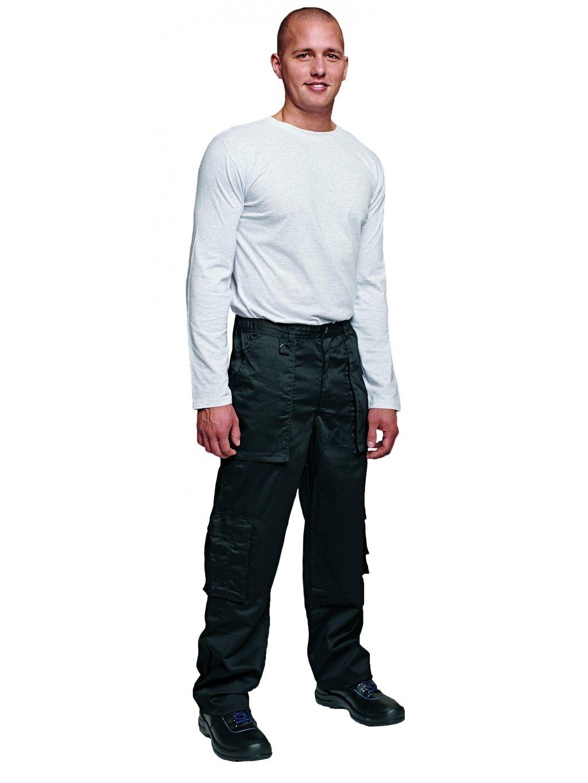 Rhino vreckové nohavice čierne