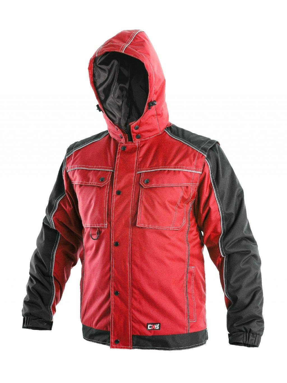 Zimná bunda IRVINE červená