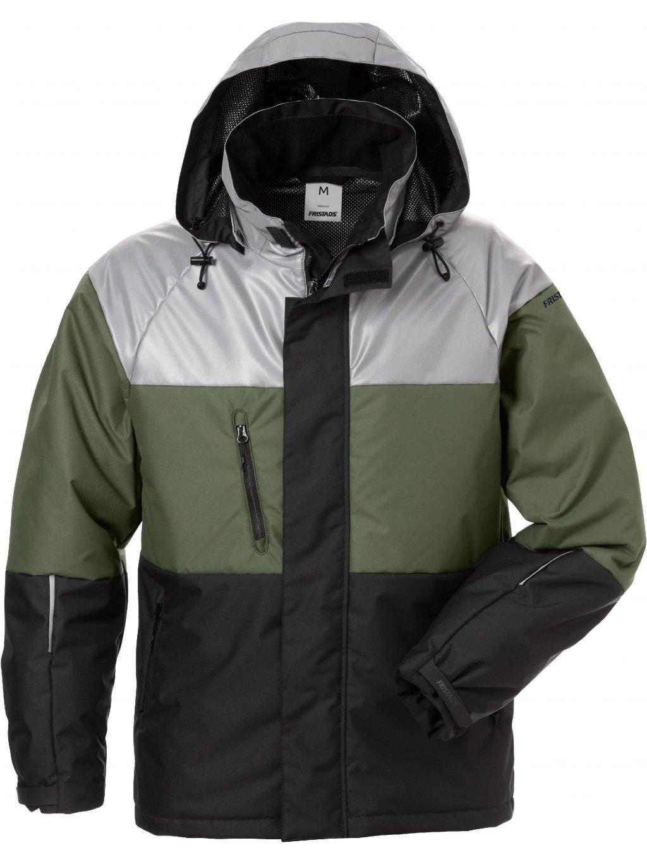 Zimná bunda FRISTADS s reflexným pásom