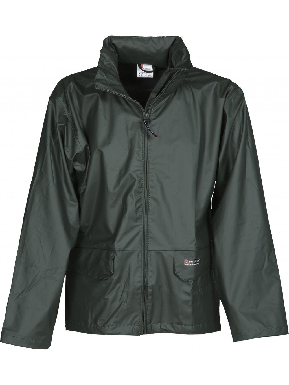 DRY bunda do dažďa zelená
