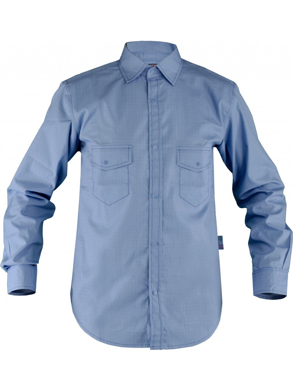 Nehorľavá antistatická košeľa ABSOLUT s chemickou úpravou