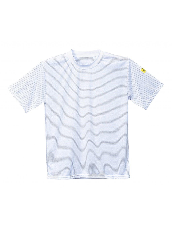 ESD antistatické tričko AS20 biele