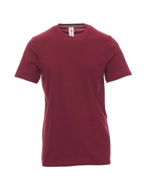 Sunset tričko pracovné bordové