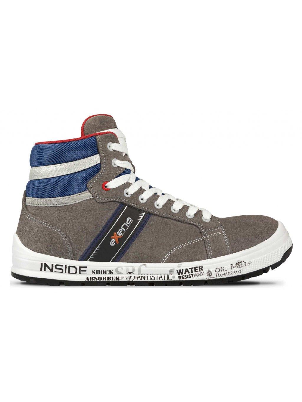 DETROIT new bezpečnostná kotníková obuv