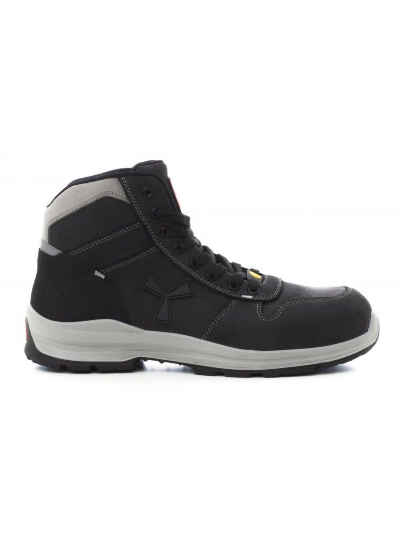 Get force mid total black bezpecnostna obuv
