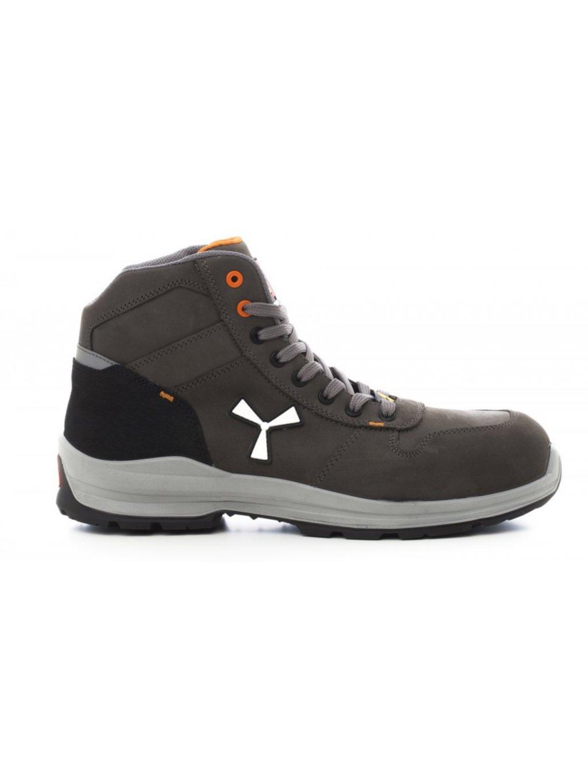 Get force mid sivé bezpečnostná obuv payper