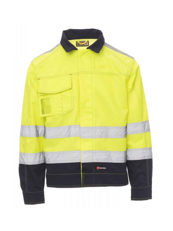Refexná bunda Safe Hi-VI žltá
