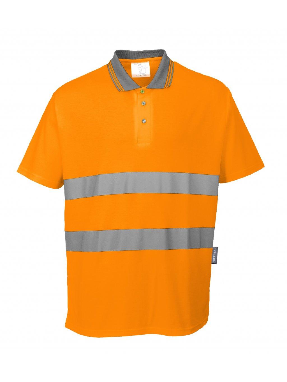 Polokošeľa Cotton Comfort S171 oranžová