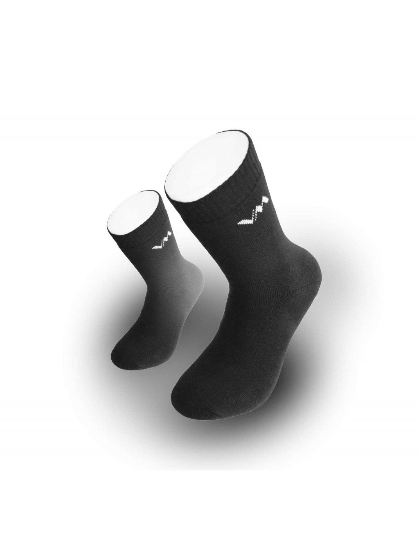 Bavlnené pracovné froté ponožky