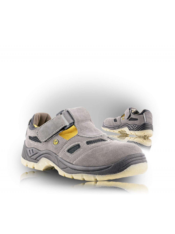 BERN S1 ESD Sandale sivé