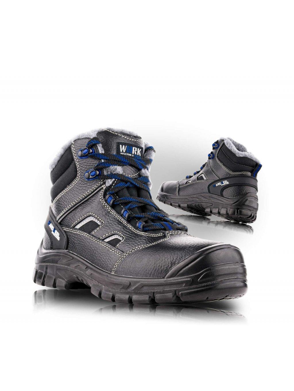 BRUSEL O1W členková zimná obuv