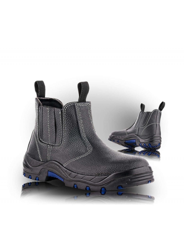 QUITO S1 HRO SRC bezpečnostná obuv s membránou